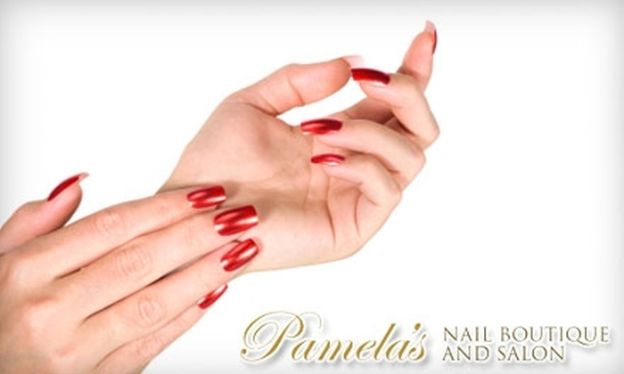 $16 for Acrylic Nails at Pamela's Nail Boutique and Salon ($32 Value)
