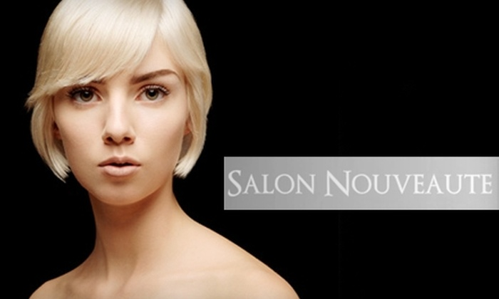 Salon Nouveaute - Plainfield: $55 for a Cut and Custom Color or $139 for a Brazilian Blowout at Salon Nouveaute