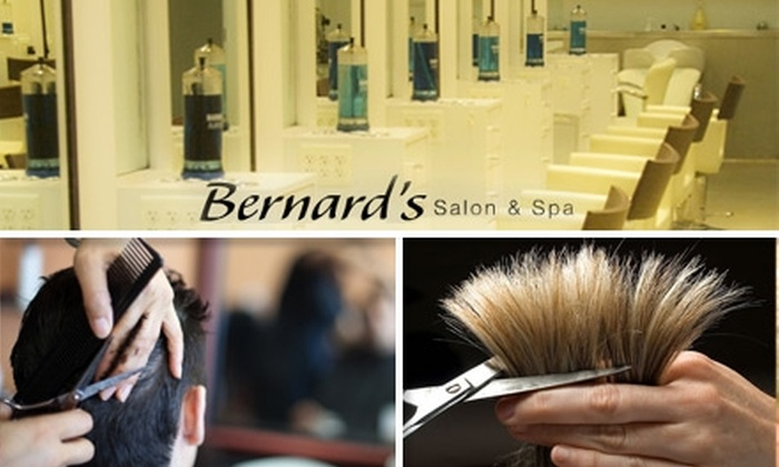 Bernard's Salon and spa - Multiple Locations: $18 for a Men's Haircut from Bernard's Salon & Spa ($36 Value)