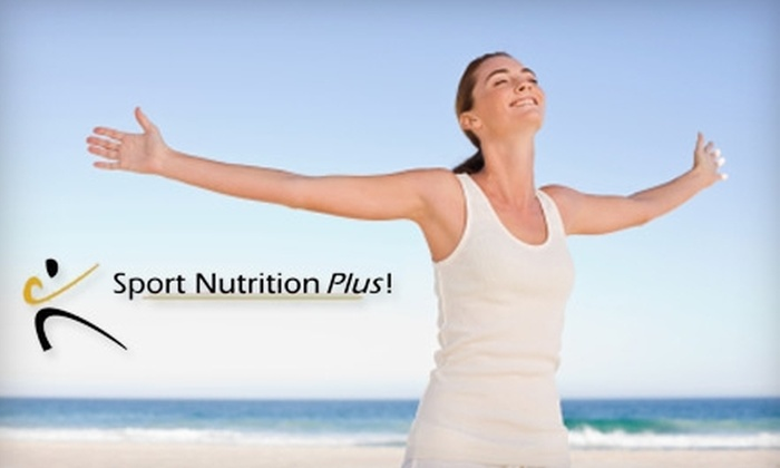 Sport Nutrition Plus - Daphne: $20 for $40 Worth of Supplements at Sport Nutrition Plus in Spanish Fort