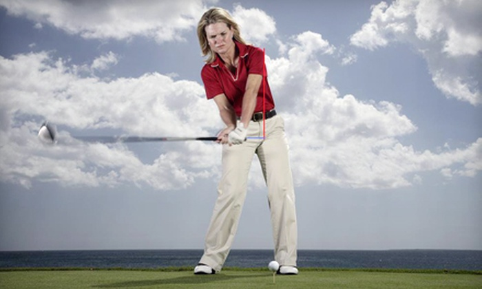 Anne Cain Golf Academy - Amelia Island: $89 for a One-Hour Lesson and a 30-Minute Practice Session with Anne Cain at Anne Cain Golf Academy on Amelia Island (Up to $195 Value)