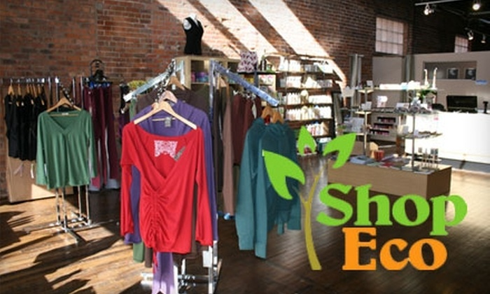 Shop Eco - Walkerville: $12 for $25 Worth of Eco-Friendly Merchandise at ShopEco