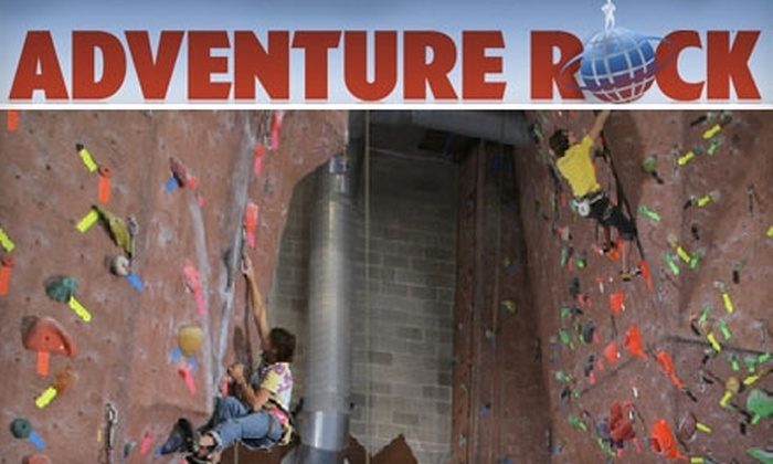 Adventure Rock Climbing Gym - Brookfield: $40 for a One-Month Membership, One-Month Gear Rental, and an On the Rocks Intro Class at Adventure Rock Climbing Gym