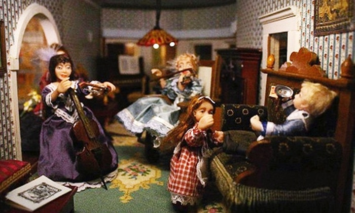 The Great American Dollhouse Museum - Danville: $5 for Two Tickets to The Great American Dollhouse Museum (Up to $14 Value) in Danville