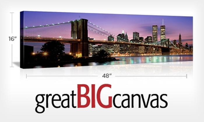 Great Big Canvas: $86 for $171.95 Worth of Printed and Gallery-Wrapped Wall Art from Great Big Canvas