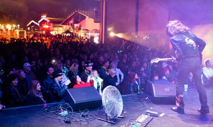OC Fair New Year's Eve Block Party - Orange County: $20 for OC Fair New Year's Eve Block Party at the OC Fair & Event Center in Costa Mesa (Up to $40 Value)