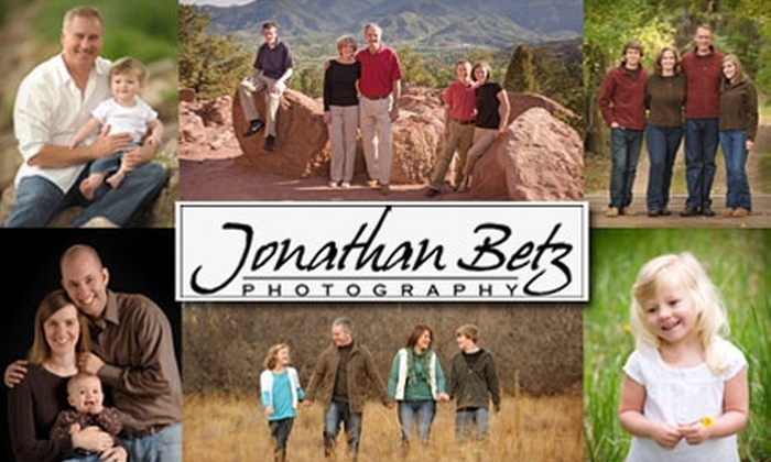 Jonathan Betz Photography - Colorado Springs: $49 for a One-Hour On-Location Photo Session Plus $100 Worth of Studio Credit from Jonathan Betz Photography ($225 Value)