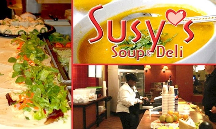 Susy's Soup & Deli - Downtown: $6 for $12 Worth of Specialty Soups and Sandwiches from Susy's Soup & Deli