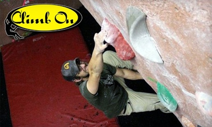 Climb On - Homewood: $15 for Introductory Climbing Class or Two Day Passes with Rental Gear at Climb On in Homewood