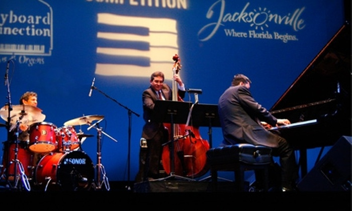 Jacksonville Jazz Piano Competition - Jacksonville: $10 for Two Tickets to Jacksonville Jazz Piano Competition ($23 Value)