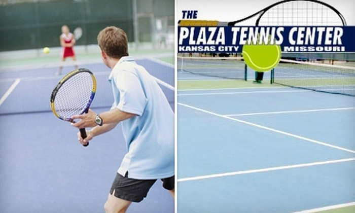 Plaza Tennis Center - Country Club Plaza: $65 for One Year Membership and One 30-Minute Private Lesson at the Plaza Tennis Center ($170 Value)