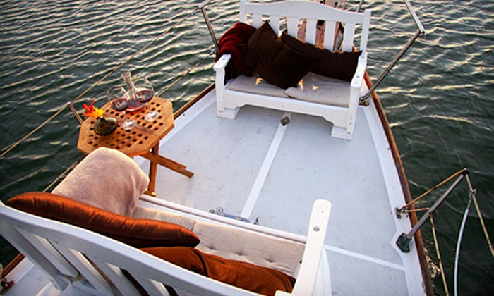 Corks Away - Long Beach: Beer-Tasting Cruise for Two or Four with Appetizers from Corks Away (Up to 57% Off)