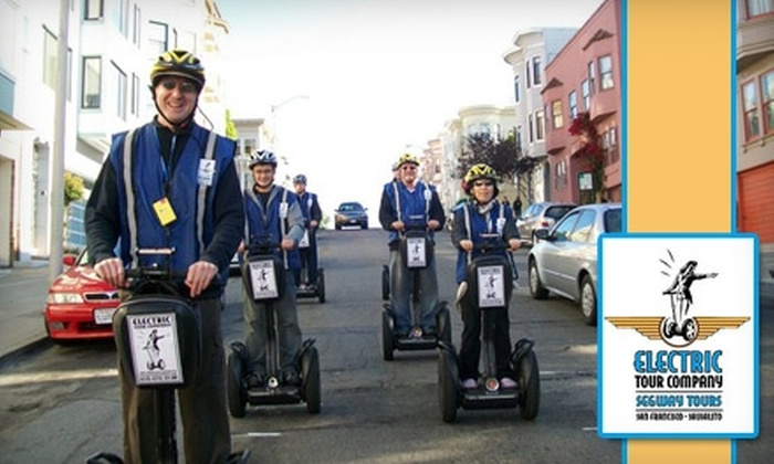 Electric Tour Company - Fisherman's Wharf: $38 for a Segway Tour with Electric Tour Company ($70 Value)