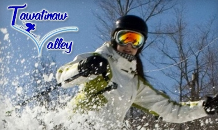 Ski Tawatinaw Valley - Tawatinaw: $14 for Full-Day Lift Ticket at Tawatinaw Valley Alpine and Nordic Centre (Up to $28 Value)
