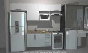 New - Móveis Planejados: New Móveis Planejados: cozinha completa planejada em 12x sem juros de R$ 133,25