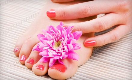 $25 for a Mani-Pedi at Carmel Day Spa & Salon ($50 Value)