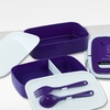 $19.99 for Set of 2 Double-Stack Bento Boxes with Utensils