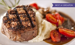 Deep Fork Wood Grill & Seafood: Fine Dining at Deep Fork Wood Grill & Seafood (Up to 50% Off)