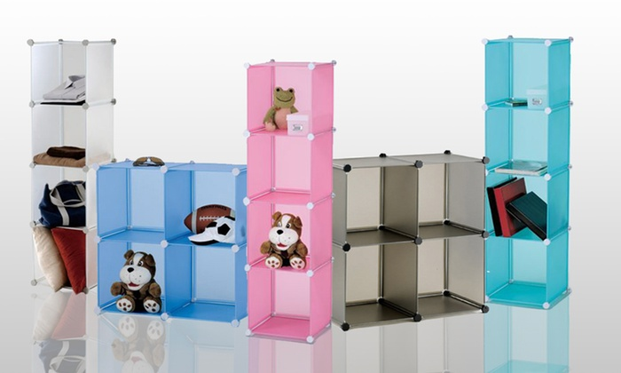 Four Magic Storage Cubes: $29 for Four Magic Storage Cubes ($64.99 List Price). Five Colors Available.