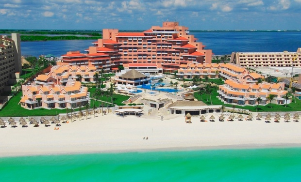 TripAlertz wants you to check out ✈4-, 6-, or 7-Night Omni Cancun Hotel & VillasStay with Airfare; Price/Person Based onDouble Occupancy. ✈All-Inclusive Omni Cancun Hotel & Villas Stay from Vacation Express - All-Inclusive Cancún Trip