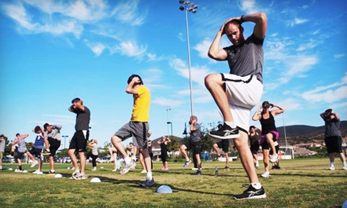 MDI 8 Fitness Bootcamp  - San Diego: Four, Six, or Eight Weeks of Boot Camp at MDI 8 Fitness Bootcamp (Up to 73% Off)