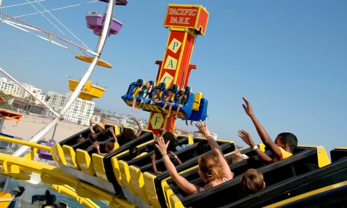 Pacific Park - Pacific Park on Santa Monica Pier: $11 for Unlimited Rides for One at Pacific Park (Up to $22.95 Value)