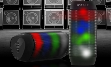 Aduro Amplify BrightSound Mini or Standard Portable Bluetooth Speaker
