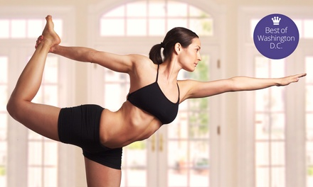 5, 10, or 20 Classes at Bikram Yoga Rockville (Up to 68% Off)