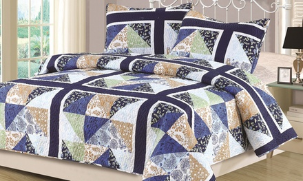 Monticello 3-Piece Quilt Set