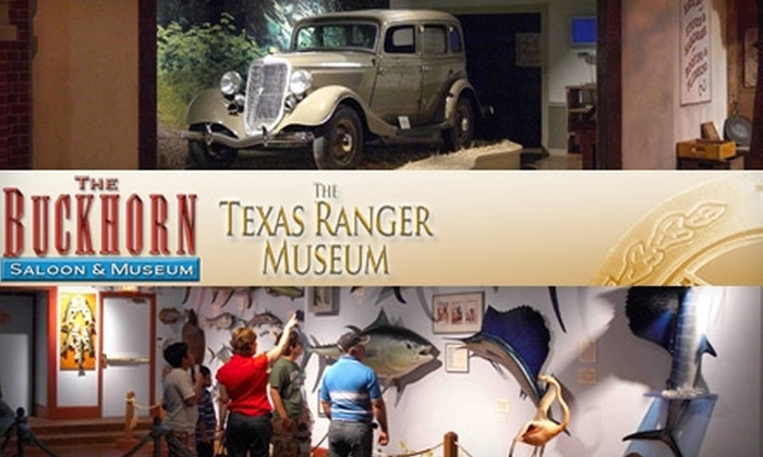 Buckhorn Museum & Saloon and Texas Ranger Museum - Downtown: $10 for Two Tickets to the Buckhorn Museum & Saloon and Texas Ranger Museum (Up to $36 Value)