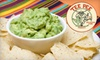 Tee Pee Mexican Food - Camelback East: $15 for $35 Worth of Classic Mexican Fare and Drinks at Tee Pee Mexican Food