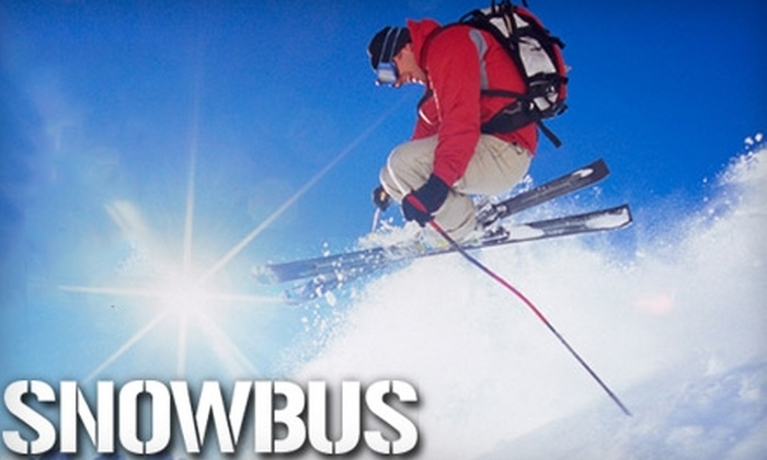 Snowbus - Vancouver: $39 for Two Adult One-Way Fares from Vancouver to Whistler or Whistler to Vancouver on SnowBus ($78.28 Value)