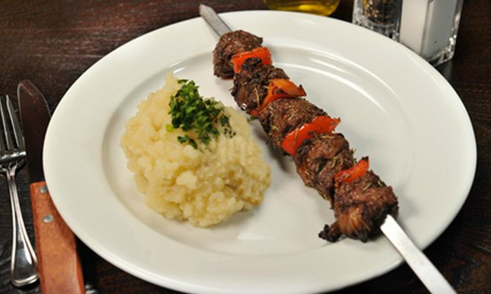 The Hummus Bar & Grill - South Valley: $15 Worth of Israeli-Style Grilled Fare