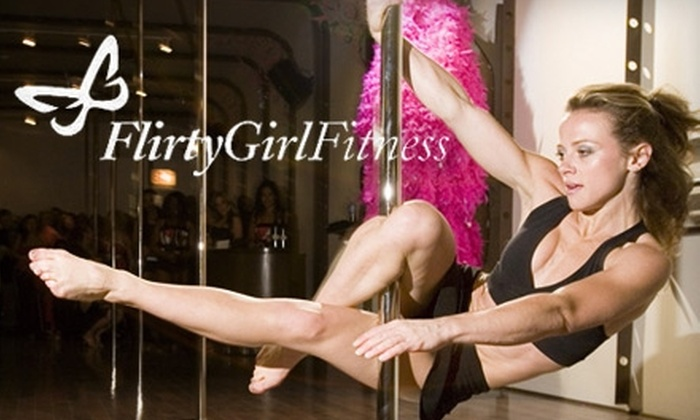 Flirty Girl Fitness - West Loop: $50 for Three Classes, a Flirtini, Three Valet Parking Passes, and a Manicure at Flirty Girl Fitness (Up to $127 Value)