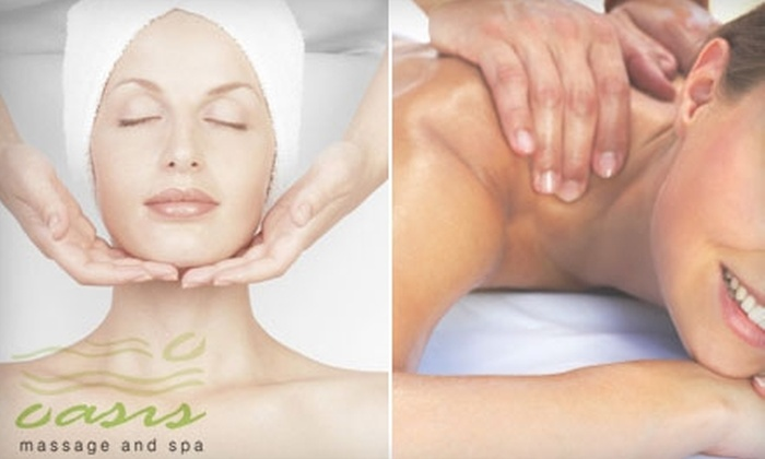 Oasis Massage and Spa - West Omaha: $30 for $65 Worth of Massage or Facial Services at Oasis Massage and Spa