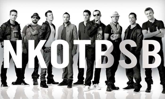 New Kids on the Block and Backstreet Boys at the Cajundome  - Lafayette: One Ticket to See New Kids on the Block and Backstreet Boys at the Cajundome in Lafayette on June 24 at 7:30 p.m.