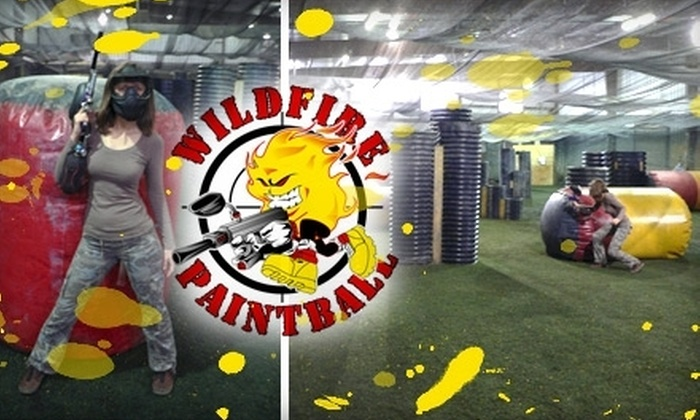 Wildfire Paintball Games - Multiple Locations: $19 for One Admission, Gun Rental, All-Day Air, and 200 Paintballs at Wildfire Paintball Games
