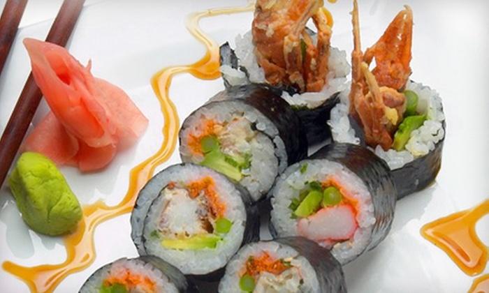 Iron Chef Japanese Cuisine - Phoenix: $15 for $30 Worth of Sushi, Sashimi, and Drinks at Iron Chef Japanese Cuisine