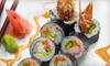 Half Off Sushi and Drinks at Iron Chef Japanese Cuisine