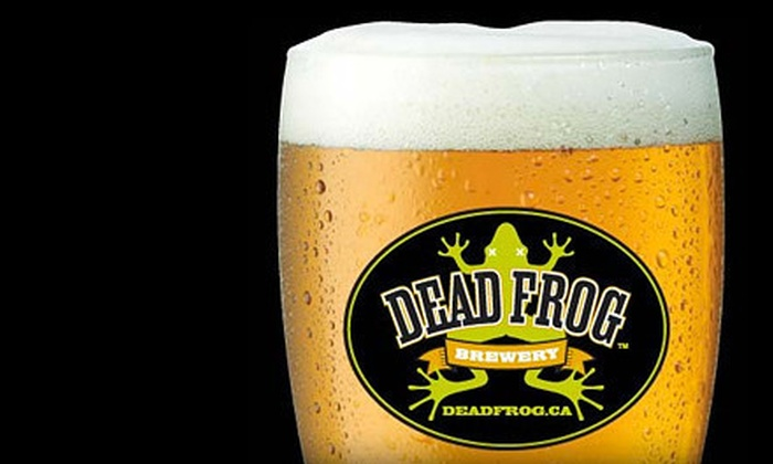 Dead Frog Brewery - Gloucester: Brewery Tour Package for One, Two, or Four at Dead Frog Brewery in Aldergrove (Up to 53% Off)