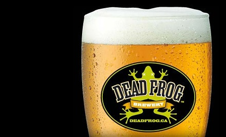 Brewery Tour for 1 (a $41 value) - Dead Frog Brewery in Aldergrove