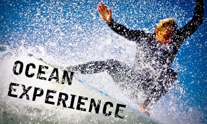 Ocean Experience - Ocean Beach: $50 for a Three-Hour Group Surfing Lesson from Ocean Experience Surf School ($105 Value)