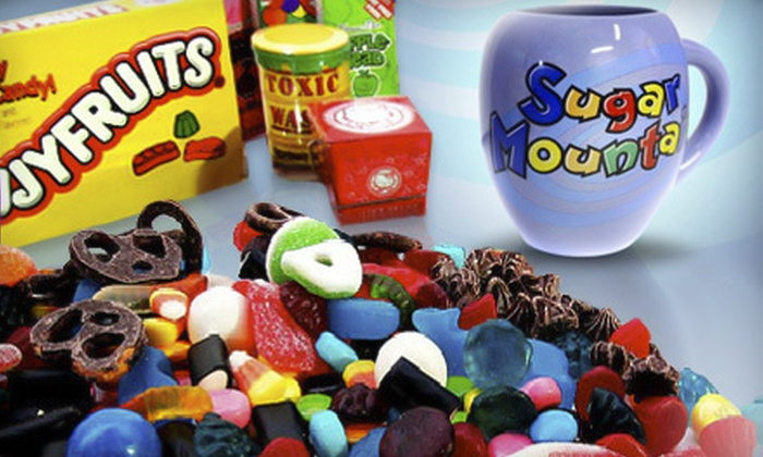 Sugar Mountain Confectionery - Multiple Locations: $7 for $14 Worth of Candy at Sugar Mountain Confectionery