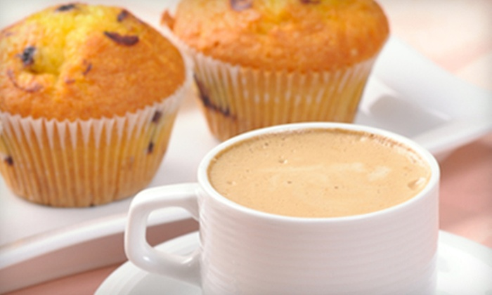 Yo el Rey Roasting - Calistoga: $7 for Coffee Drinks and Pastries for Two at Yo el Rey Roasting in Calistoga (Up to $15.50 Value)