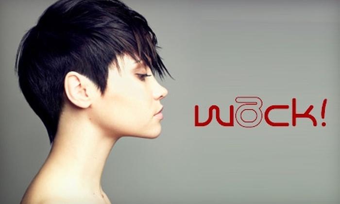 Wack Salon - Richmond: $89 for a Brazilian-Blowout Straightening Treatment at Wack Salon ($200 Value)