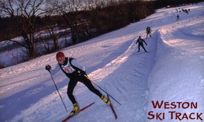 Weston Ski Track - Newton Lower Falls: $28 for One Day-Pass, Equipment Rental, and Cross-Country Ski Lesson at Weston Ski Track