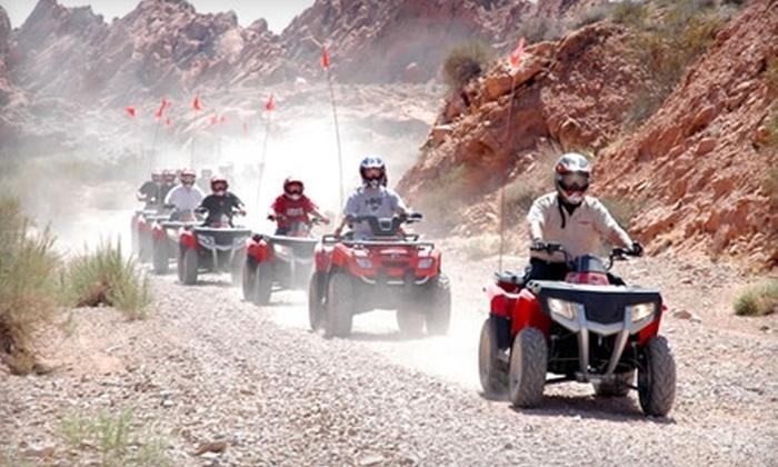 Adrenaline ATV Tours - North Las Vegas: $80 for a Valley of Fire Tour from Adrenaline ATV Tours in North Las Vegas ($160 Value)