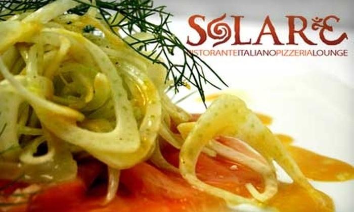 Solare Ristorante Italiano - Midway District: $25 for $55 Worth of Dinner Fare at Solare Ristorante Italiano
