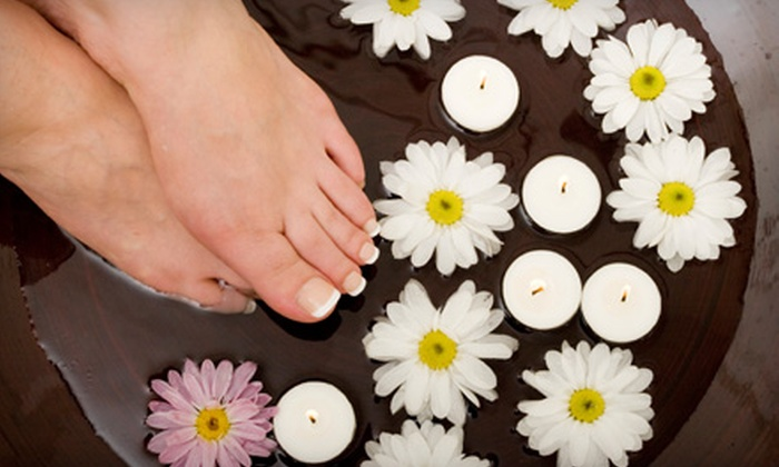 Happy Nails - Madison Park: $15 for Shellac Manicure or Deluxe Pedicure at Happy Nails