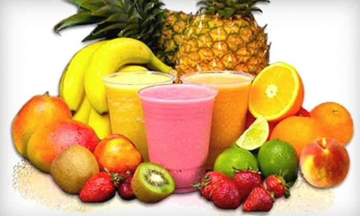 Smart Drinks - Multiple Locations: $5 for $10 Worth of Fruit Smoothies at Smart Drinks